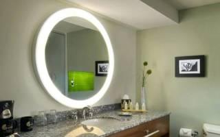 Как сделать зеркало с подсветкой — Своими Руками