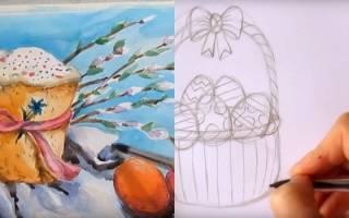 Как нарисовать Пасху — Своими Руками