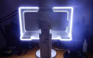 Подсветка монитора — Своими Руками