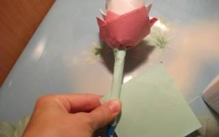 Цветок из бумаги «Гармония» — Своими Руками