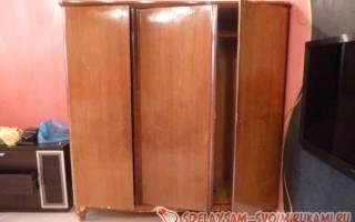Реставрация старого платяного шкафа — Своими Руками
