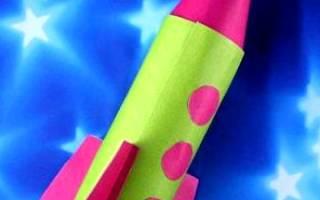 Ракета своими руками — поделка с детьми — Своими Руками