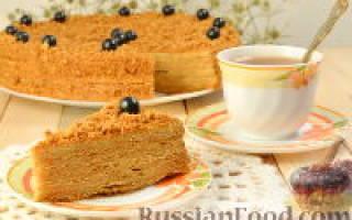 Торт «Рыжик» — Своими Руками