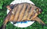 Рыба горячего копчения с начинкой — Своими Руками