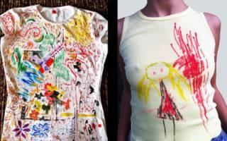 Роспись детской футболки — Своими Руками