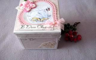Свадебная шкатулка — Своими Руками