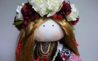 Интерьерная кукла-тильда — Своими Руками