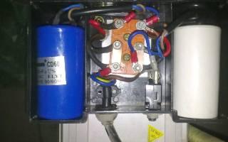 Подбор рабочего конденсатора к трехфазному электродвигателю — Своими Руками
