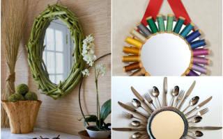 Яркие бабочки: идея декорирования зеркала или стекла — Своими Руками
