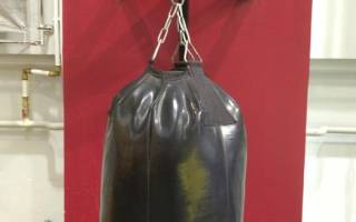 Самодельный боксерский мешок — Своими Руками
