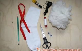 Как сшить мягкую игрушку из носка — Своими Руками