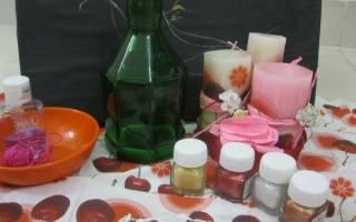 Миниатюрная ваза из стеклянной бутылки — Своими Руками