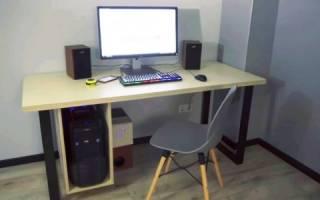 Компьютерный стол своими руками — Своими Руками