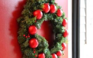 Рождественский венок — Своими Руками