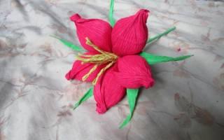 Цветок из гофрированной бумаги «Радость» — Своими Руками