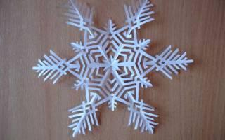 Шестиконечные снежинки — Своими Руками
