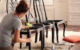 Обновление детского стульчика — Своими Руками
