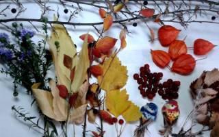 Декоративный осенний венок — Своими Руками