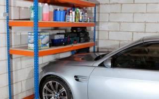 Стеллаж в гараж своими руками — Своими Руками