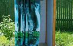 Как сделать летний душ? — Своими Руками