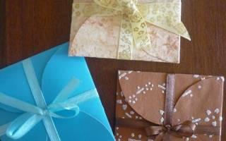Подарочный конверт из бумаги — Своими Руками