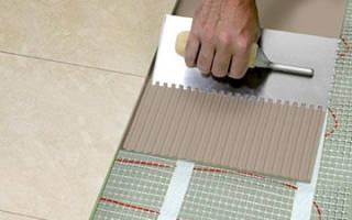 Укладка плитки на электрические теплые полы — Своими Руками