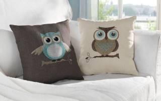 Декоративная подушка для девочки — Своими Руками