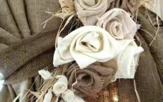 Цветок для шторы — Своими Руками