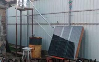 Солнечный водонагреватель — Своими Руками