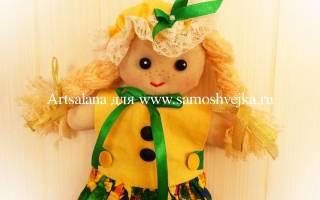 Кукла-полотенце своими руками — Своими Руками