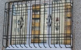 Декоративная решетка под окно — Своими Руками