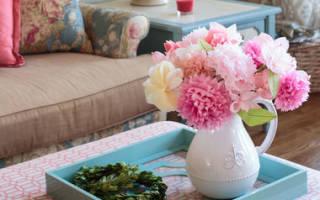 Букет цветов из салфеток — Своими Руками