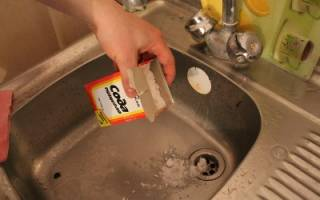 Прочистка канализационного слива содой и уксусом — Своими Руками