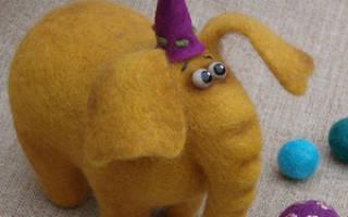 Валяная игрушка — Своими Руками