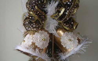 Изготовление рождественского колокольчика — Своими Руками