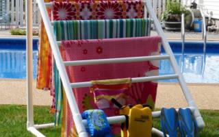 Большой стол из пластиковых труб — Своими Руками