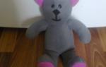 Шьем медвежонка — Своими Руками