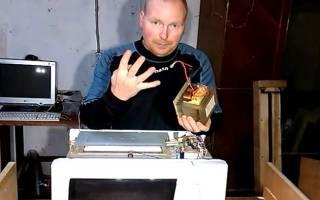 Простой сварочный аппарат из микроволновки — Своими Руками