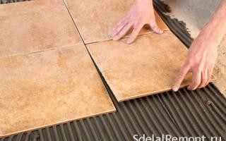 Монтаж керамической плитки на ровную поверхность — Своими Руками
