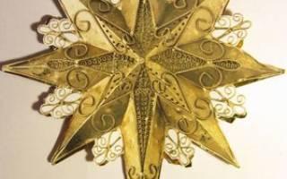Рождественская звезда — Своими Руками