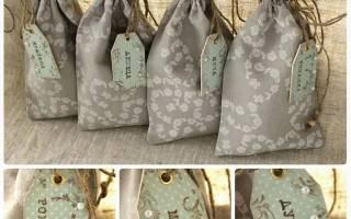 Мешочки для хранения трав и семян — Своими Руками