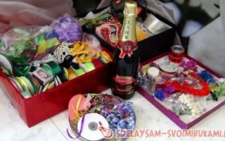 Оригинальное оформление бутылки шампанского — Своими Руками