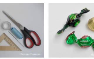 Бутон розы из гофрированной бумаги — Своими Руками