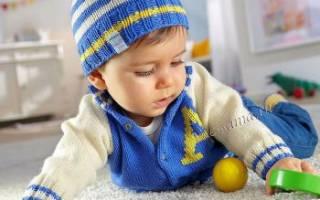 Жакет и шапочка для малыша — Своими Руками