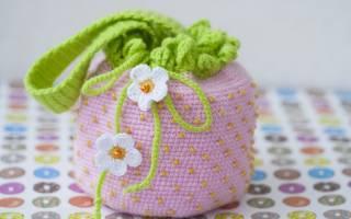 Детская сумочка крючком — Своими Руками