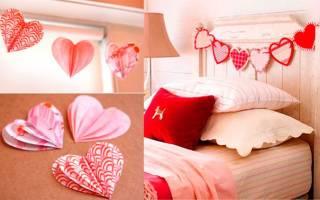 Быстрая валентинка ко дню влюбленных — Своими Руками