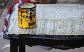 Декорирование старого журнального столика — Своими Руками