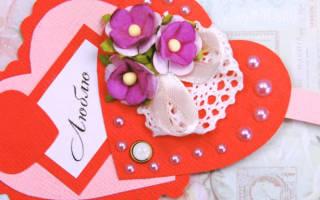 Раскладные валентики — Своими Руками