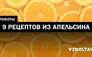 Ликер из апельсиновых корочек — Своими Руками