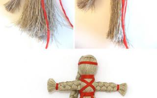 Кукла из шерстяных ниток — Своими Руками